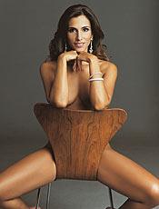 """Mônica Veloso posa para a revista masculina """"Playboy""""; veja galeria"""