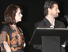 Fernanda Young e Marcelo Serrado