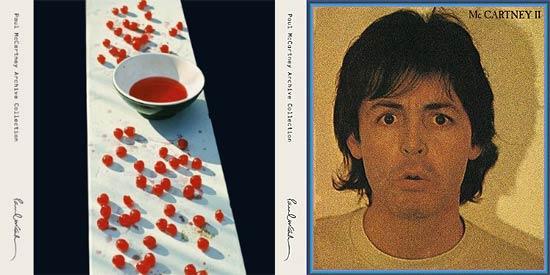 Capas dos álbuns