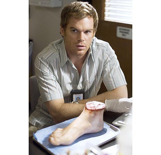"""O ator Michael C. Hall da série """"Dexter"""""""
