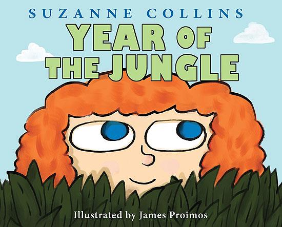 """A capa de """"Year of the Jungle"""", novo livro de Suzanne Collins, autora de """"Jogos Vorazes"""""""