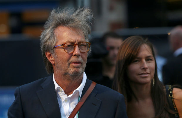 Musician Eric Clapton attends the world premiere of 'The Beatles: Eight Days a Week - The Touring Years' in London, Britain September 15, 2016. REUTERS/Neil Hall ORG XMIT: NGH19