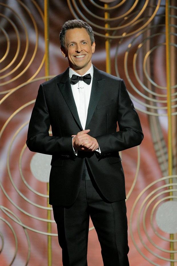 Seth Meyers, o apresentador do 75º Globo de Ouro