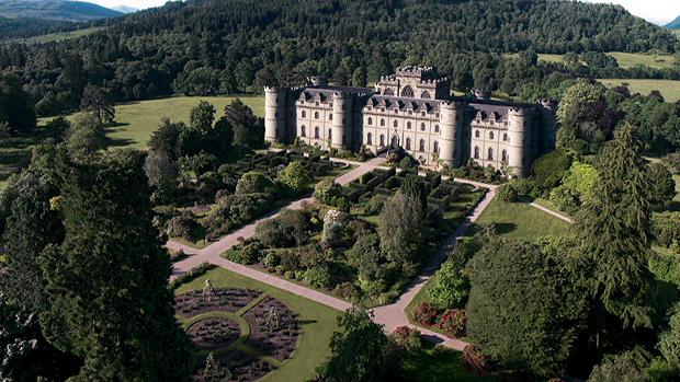 Castelo de Artena, um dos cenários da nova trama das sete da Globo