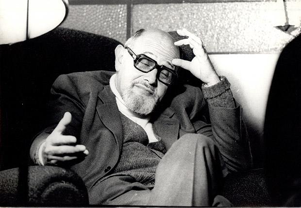 O filósofo tcheco Vilém Flusser (1920-1991) que veio ao Brasil durante a Segunda Guerra