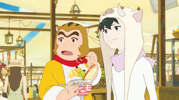 Cena da animação 'O Rapaz e o Monstro', de Mamoru Hosoda