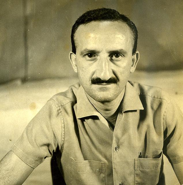 Décio Pignatari em retrato de 1965
