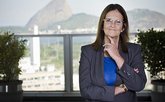 A presidente da Petrobras, Maria das Graças Foster, é uma das poucas mulheres no comando