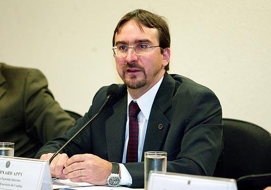 O economista Bernard Appy, que foi secretário-executivo do Ministério da Fazenda