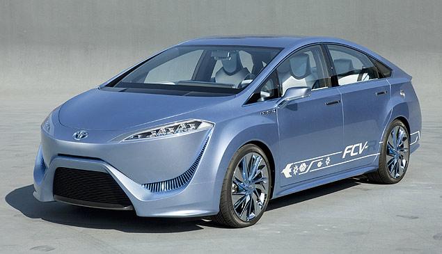 Carro a hidrogênio seguirá linhas do conceito FCV-R, de 2011