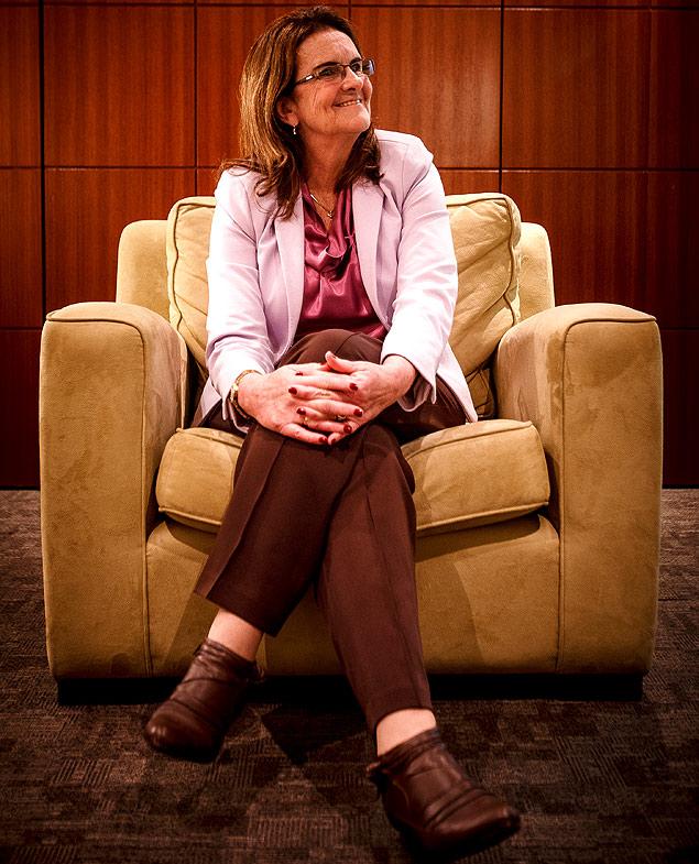 A presidente da Petrobras, Maria das Graças Foster, 60