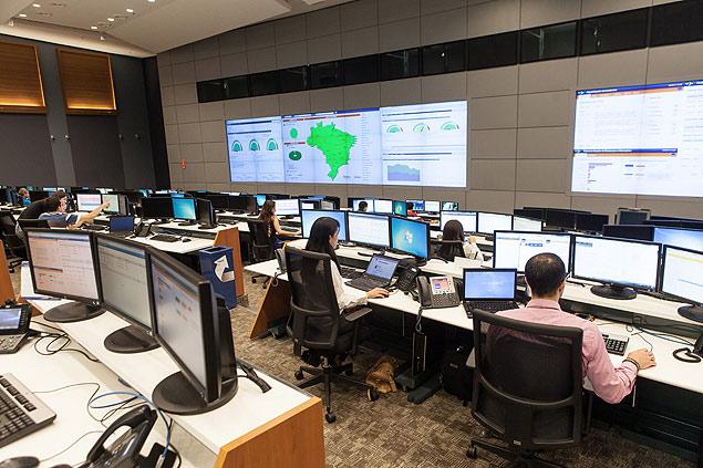 Legenda: Centro Tecnológico do Itaú, em Mogi MirimCrédito: Rodrigo Capote/Folhapress/// digitalização