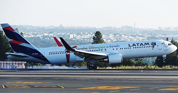 Boeing 767-300ER da Latam: empresa anunciou modelo de negócios para América Latina a partir de 2017