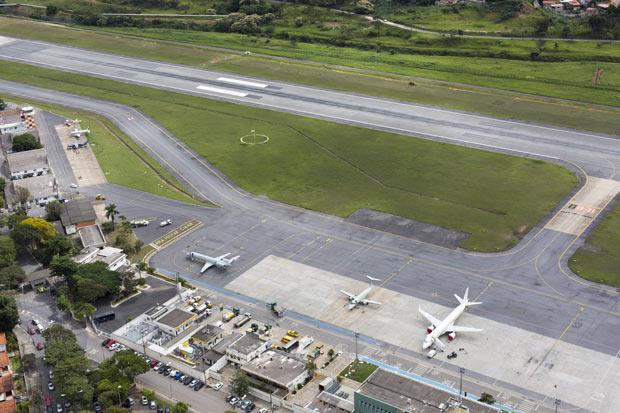 15 de abril de 2014 Vista aerea do Aeroporto da Pampulha. Foto:RODRIGO LIMA / NITRO/Divulgacao ***DIREITOS RESERVADOS. NÃO PUBLICAR SEM AUTORIZAÇÃO DO DETENTOR DOS DIREITOS AUTORAIS E DE IMAGEM***