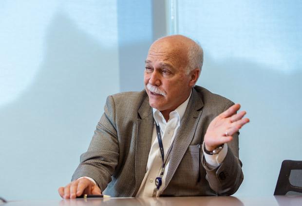 Retrato de Ricardo Sena, presidente do grupo Andrade Gutierrez