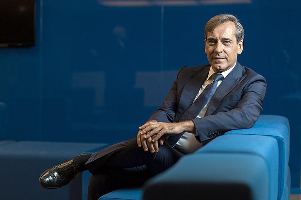 Retrato de Stefano de Angelis, presidente da TIM Brasil