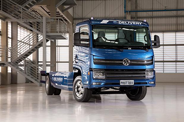E-Delivery, caminhão elétrico da Volks