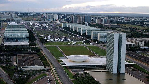 A Esplanada dos Ministérios, em Brasília; Programa de Desligamento Voluntário (PDV) teve 240 adesões em 2017