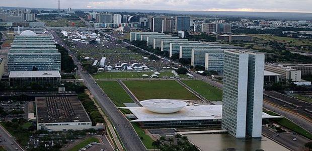 A Esplanada dos Ministérios, em Brasília; Programa de Desligamento Voluntário (PDV) teve 240 adesões em 2017 | Foto: Ag. Brasil