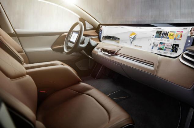 SUV BytonEmpresa chinesa anuncia carro elétrico com painel inteligente de vidro na CES
