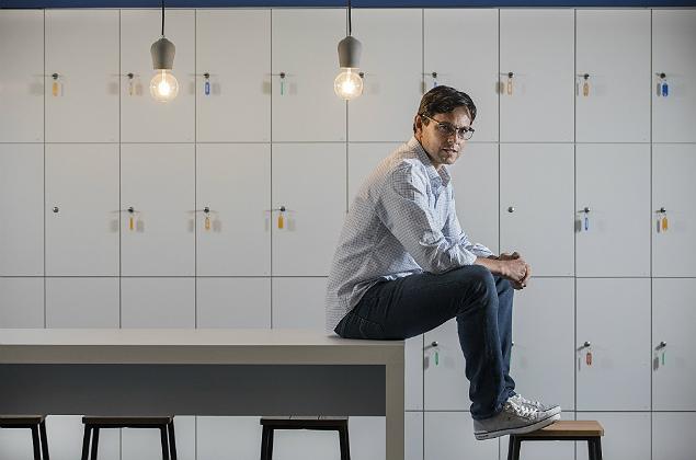 Sao Paulo, SP, BRASIL, 29-09-2017: MPME. Retrato do empreendedor Alexandre Lara, CEO da empresa Kitado, na sede da empresa na Vila Olimpia (Foto: Eduardo Knapp/Folhapress, SUPLEMENTOS).