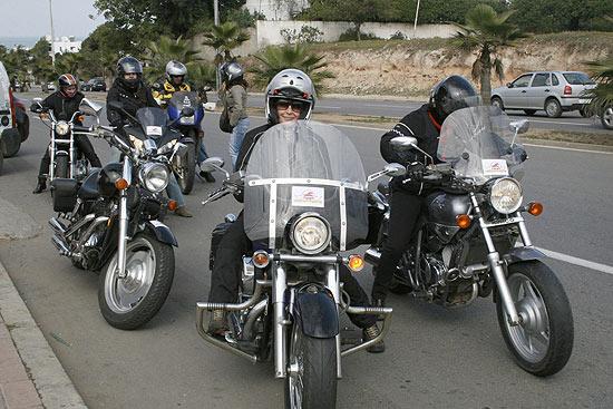 """""""Miss Moto Marrocos"""" é a primeira associação de mulheres motoqueiras do mundo árabe"""