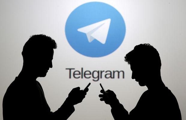 Usuários do aplicativo de mensagens instantâneas russo Telegram
