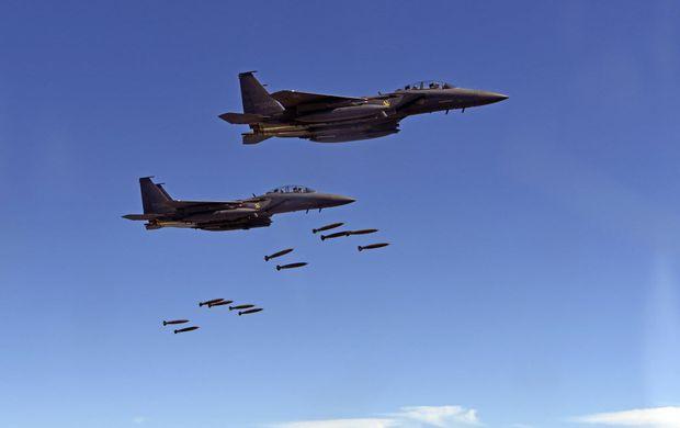 Força aérea da Coreia do Sul lança bomba em território sul-coreano durante exercício militar em conjunto com os EUA