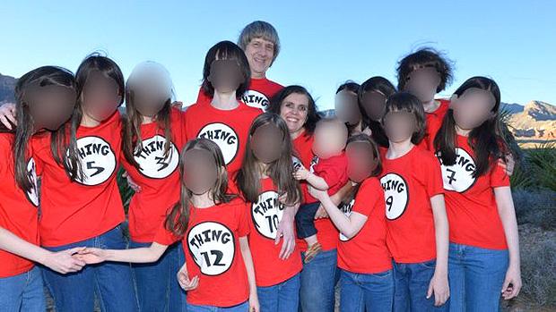 Na página do Facebook do casal, há muitas fotos da família reunida