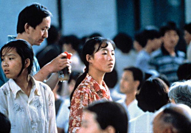 """Cena do filme """"Nenhum a menos"""", de Zhang Yimou"""
