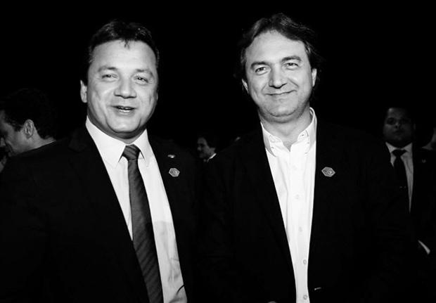 Wesley e Joesley Batista, da JBS, empresa da holding J&F