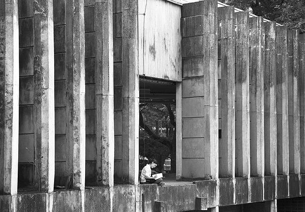 SAO PAULO, SP. 12/11/2014. Predio da Reitoria da USP na Cidade Universitaria. ( Foto: Lalo de Almeida/Folhapress, COTIDIANO ) *** ESPECIAL USP ***