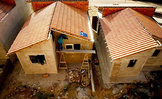 Construção do Minha Casa, Minha vida em Campinas (SP); governo estuda ampliar foco de atuação do programa