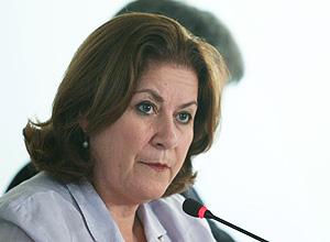 A ministra Miriam Belchior, do Ministério do Planejamento
