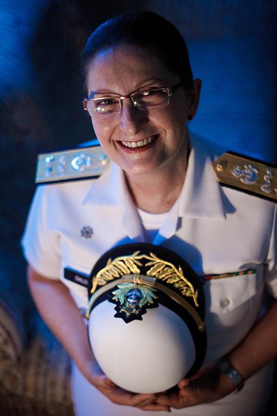Dalva Mendes, da Marinha, a primeira oficial general das Forças Armadas brasileiras