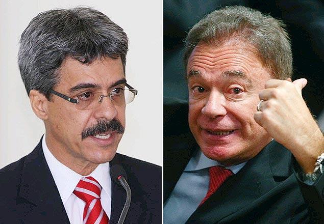 Deputado petistas Luiz Sérgio e o senador tucano Álvaro Dias, que apresentaram propostas idênticas