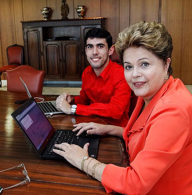 Dilma com Dilma Bolada ----http://instagram.com/p/exNGaWR3mR/#