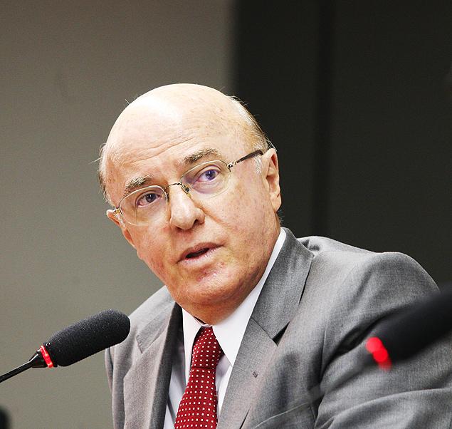 O diretor-presidente afastado da Eletronuclear, Othon Luiz Pinheiro Silva, durante debate em Brasília