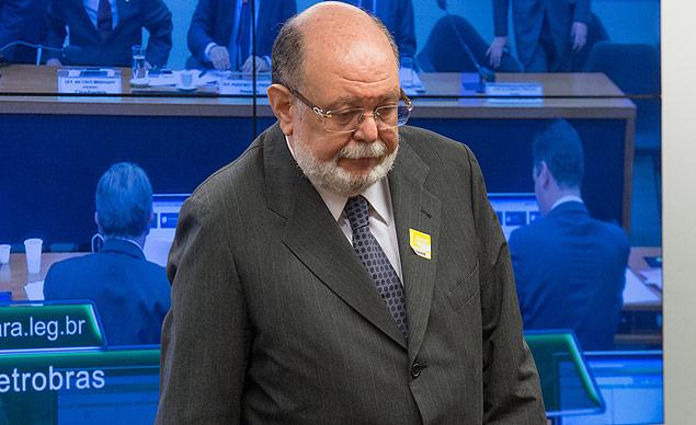 José Aldemário Pinheiro Filho, o Léo Pinheiro, em depoimento à CPI da Petrobras no ano passado