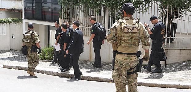 Policia Federal entrou no Instituto Lula durante a 24ª fase da Operação Lava Jato, na sexta (4)