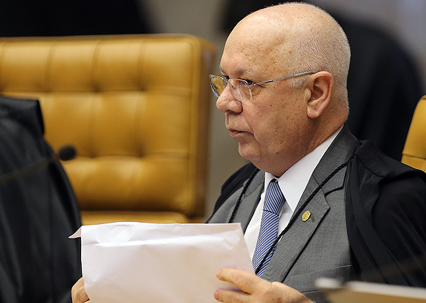 O ministro Teori Zavascki no Supremo Tribunal Federal