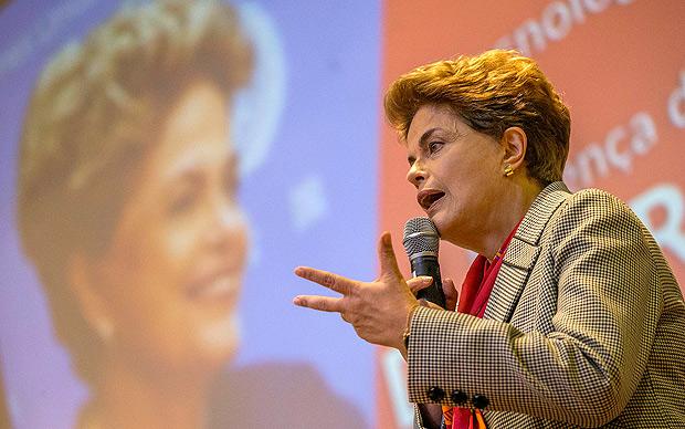 Dilma participa de encontro com estudantes na UFABC (Universidade Federal do ABC)