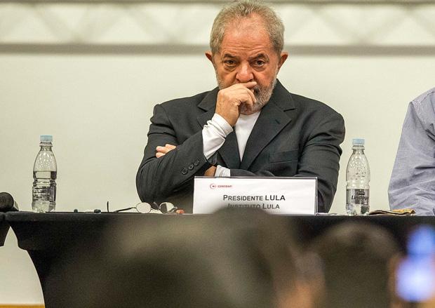 PODER - SP - O Presidente Lula fala no Seminario Nacional do Sistema financeiro e Sociedade. 29/07/2016 - Foto Marlene Bergamo/Folhapress - 017