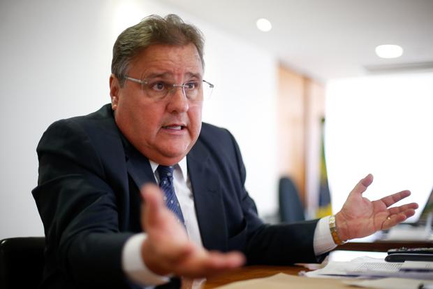 BRASILIA, DF, BRASIL, 01-09-2016, 12h00: O ministro da secretaria política Geddel Vieira Lima, durante entrevista à FOLHA, em seu gabinete. (Foto: Pedro Ladeira/Folhapress, PODER) ***EXCLUSIVA*** ***ESPECIAL***