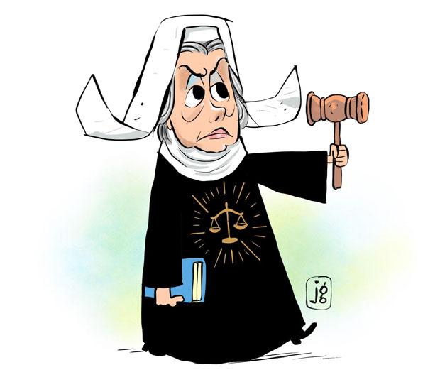 Ilustração ministra Cármen Lúcia
