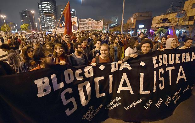 Protesto contra Temer que aconteceu na quinta (8)