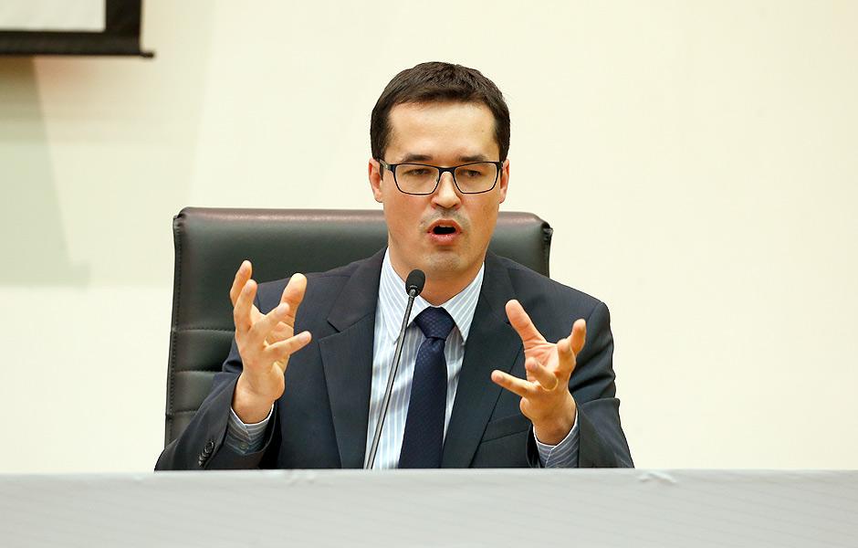 O coordenador da força-tarefa da Lava Jato em Curitiba, o procurador Deltan Dallagnol