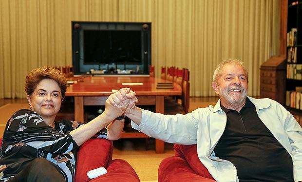 Brasília - DF, 28/08/2016. Presidenta Dilma Rousseff recebe o ex-presidente Lula no Palácio da Alvorada. Foto: Roberto Stuckert Filho/PR ***DIREITOS RESERVADOS. NÃO PUBLICAR SEM AUTORIZAÇÃO DO DETENTOR DOS DIREITOS AUTORAIS E DE IMAGEM***