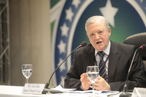 O ex-ministro José de Castro Meira, que deixou o Superior Tribunal de Justiça em 2013