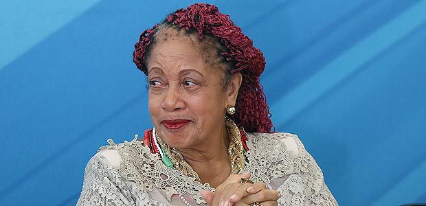 A ministra de Direitos Humanos, Luislinda Valois